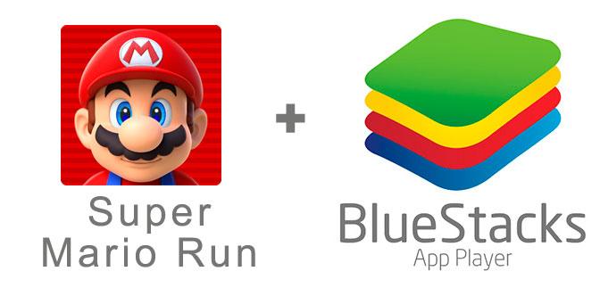 Устанавливаем Super Mario Run с помощью эмулятора BlueStacks.