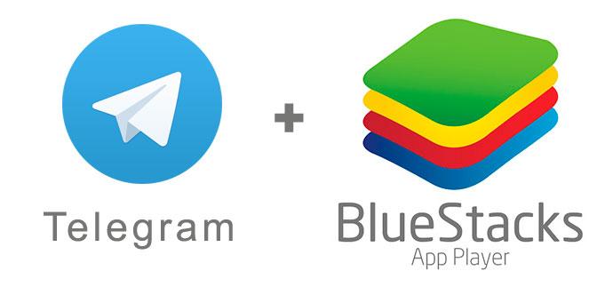 Устанавливаем telegram с помощью эмулятора BlueStacks.