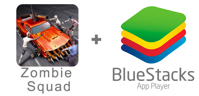 Устанавливаем Zombie Squad с помощью эмулятора BlueStacks.