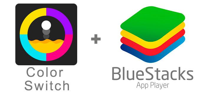 Устанавливаем Color Switch с помощью эмулятора BlueStacks.