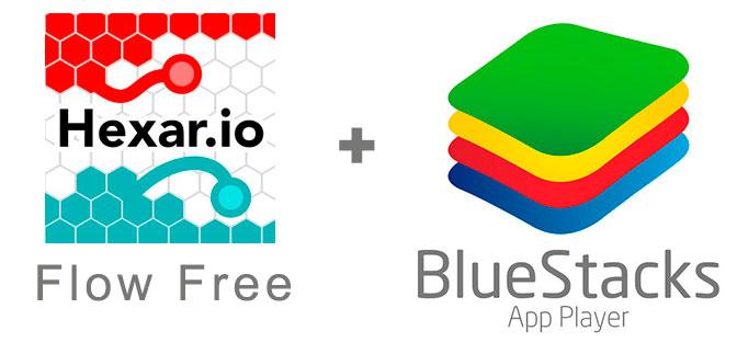 Устанавливаем Hexar.io с помощью эмулятора BlueStacks.