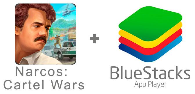 Устанавливаем Narcos: Cartel Wars с помощью эмулятора BlueStacks.