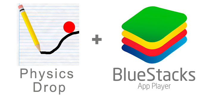 Устанавливаем Physics Drop с помощью эмулятора BlueStacks.