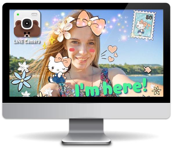 Line camera на компьютер скачать бесплатно