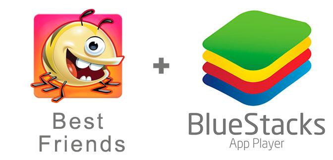 Устанавливаем Best Friends с помощью эмулятора BlueStacks.