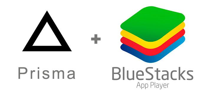 Устанавливаем Prisma с помощью эмулятора BlueStacks.