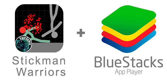 Устанавливаем Стикмен Вариорс с помощью эмулятора BlueStacks.