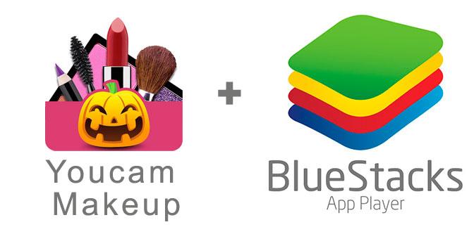 Устанавливаем Юкам Мейкап с помощью эмулятора BlueStacks.