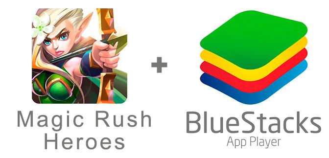 Устанавливаем Мэджик Раш с помощью эмулятора BlueStacks.