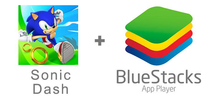 Устанавливаем Соник Даш с помощью эмулятора BlueStacks.