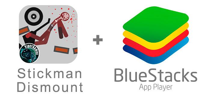 Устанавливаем Стикмен Дисмаунт с помощью эмулятора BlueStacks.