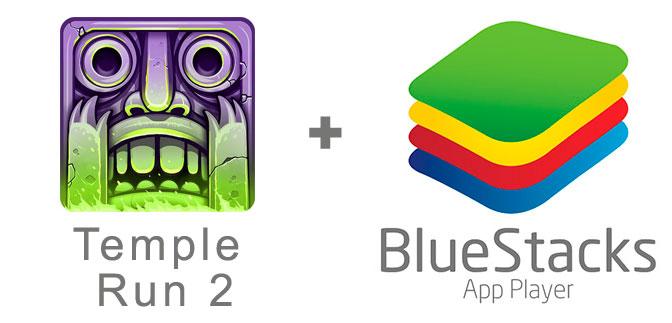 Устанавливаем Темпл Ран 2 с помощью эмулятора BlueStacks.