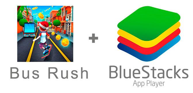 Устанавливаем Бас Раш с помощью эмулятора BlueStacks.