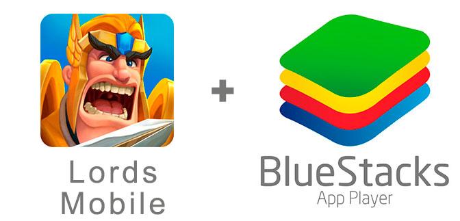 Устанавливаем Лордс Мобайл с помощью эмулятора BlueStacks.