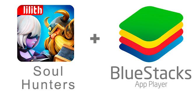 Устанавливаем Соул Хантер с помощью эмулятора BlueStacks.