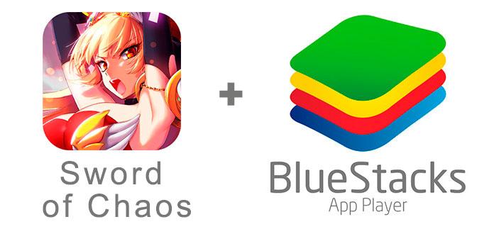 Устанавливаем Меч Хаоса с помощью эмулятора BlueStacks.