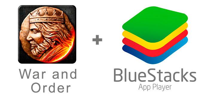 Устанавливаем Вар энд Ордер с помощью эмулятора BlueStacks.