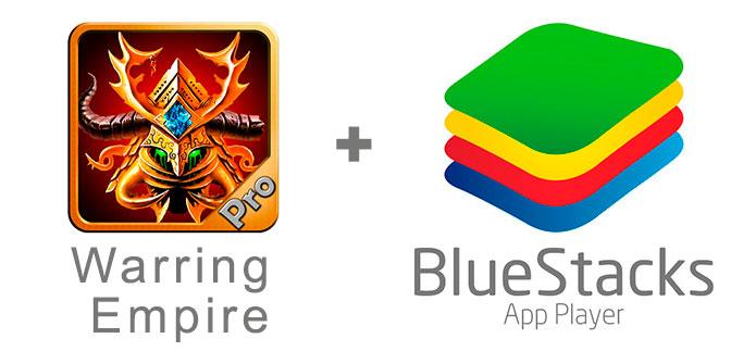 Устанавливаем Age of Warring Empire с помощью эмулятора BlueStacks.