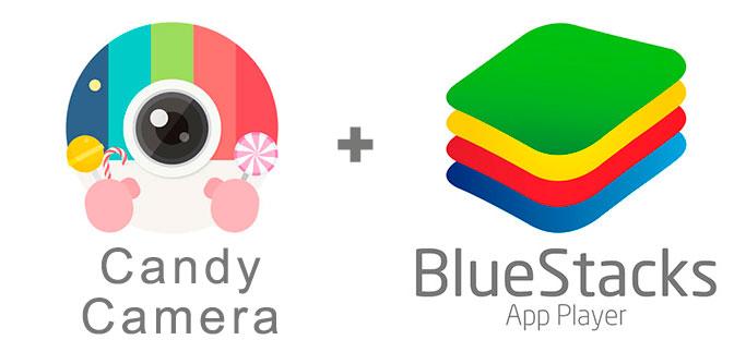 Устанавливаем Кэнди Камеру с помощью эмулятора BlueStacks.