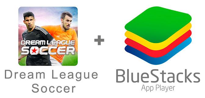 Устанавливаем Дрим Лига Соккер с помощью эмулятора BlueStacks.