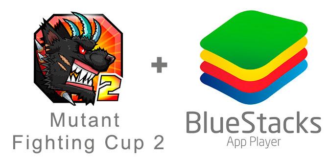 Устанавливаем Мутант Файтинг Кап 2 с помощью эмулятора BlueStacks.