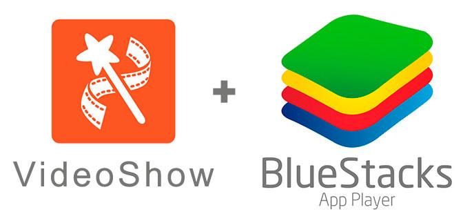Устанавливаем Видео Шоу с помощью эмулятора BlueStacks.
