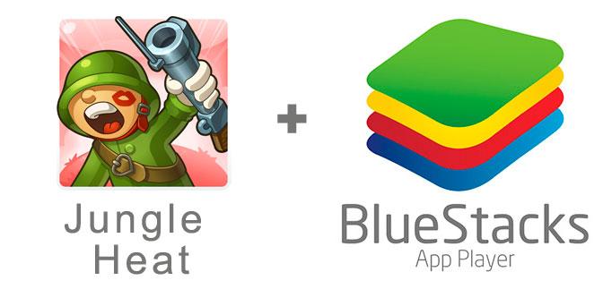 Устанавливаем Джангл Хит с помощью эмулятора BlueStacks.