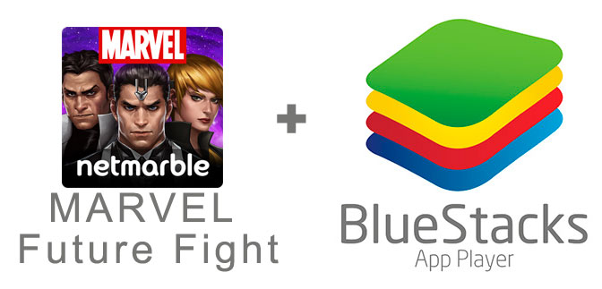 Устанавливаем MARVEL Future Fight с помощью эмулятора BlueStacks.