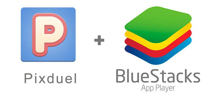 Устанавливаем Pixduel с помощью эмулятора BlueStacks.