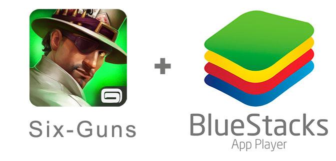 Устанавливаем сикс ганс с помощью эмулятора BlueStacks.