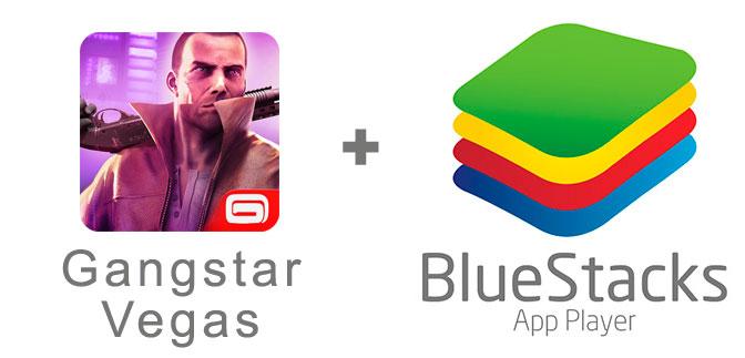 Устанавливаем Gangstar Vegas с помощью эмулятора BlueStacks.