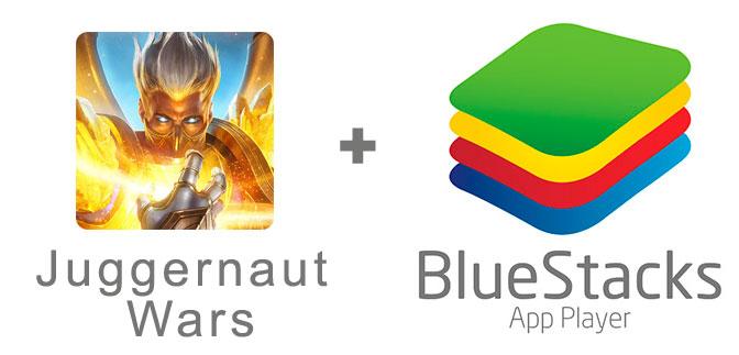 Устанавливаем Juggernaut Wars с помощью эмулятора BlueStacks.