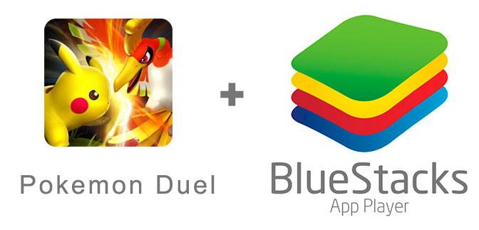 Устанавливаем Pokemon Duel с помощью эмулятора BlueStacks.