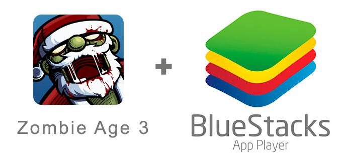 Устанавливаем Zombie Age 3 с помощью эмулятора BlueStacks.