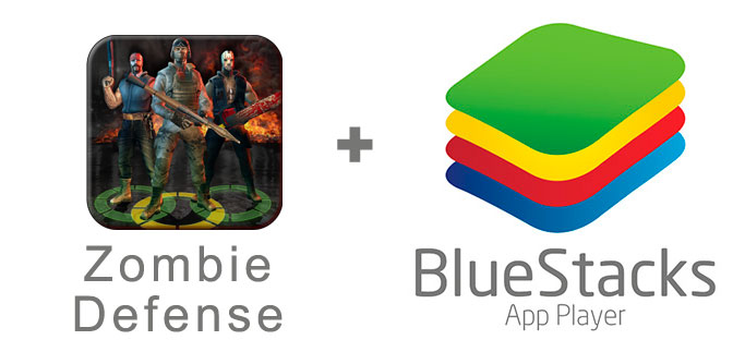 Устанавливаем Zombie Defense с помощью эмулятора BlueStacks.