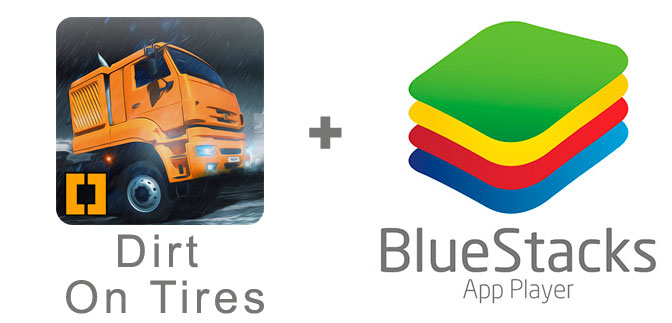 Устанавливаем Dirt On Tires с помощью эмулятора BlueStacks.