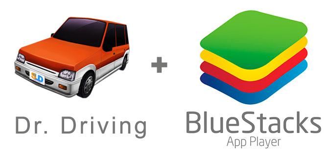 Устанавливаем Dr. Driving с помощью эмулятора BlueStacks.