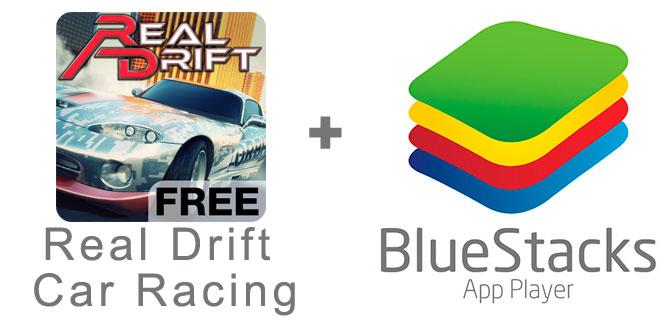 Устанавливаем Real Drift Car Racing с помощью эмулятора BlueStacks.
