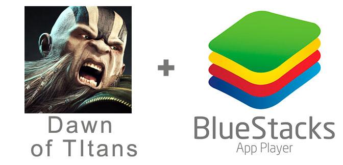 Устанавливаем Dawn of TItans с помощью эмулятора BlueStacks.
