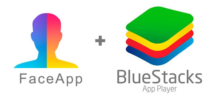 Устанавливаем FaceApp с помощью эмулятора BlueStacks.