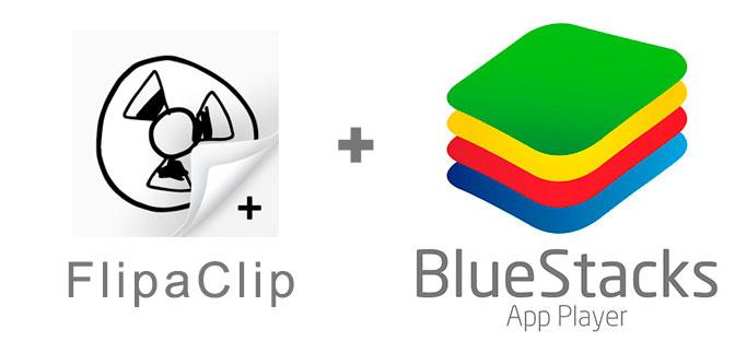 Устанавливаем FlipaClip с помощью эмулятора BlueStacks.