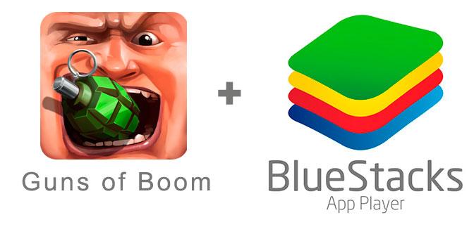 Устанавливаем Guns of Boom с помощью эмулятора BlueStacks.