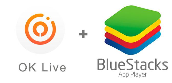Устанавливаем OK Live с помощью эмулятора BlueStacks.