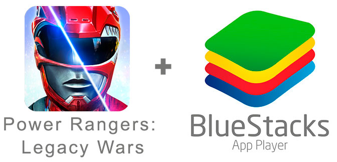 Устанавливаем Power Rangers: Legacy Wars с помощью эмулятора BlueStacks.